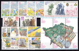 883-906 Vatikan-Jahrgang 1986 Komplett, Postfrisch - Unclassified