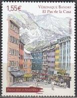 Andorre Français 2013 Yvert 746 Neuf ** Cote (2017) 4.50 Euro Pas De La Casa - French Andorra