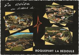 CPSM Roquefort La Bedoule Multivues - Otros Municipios