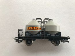 JOUEF Wagon Double Citerne Pulverulent ALGECO - Goods Waggons (wagons)