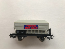 JOUEF Wagon Tremie PECHINEY SAINT GOBAIN - Goods Waggons (wagons)