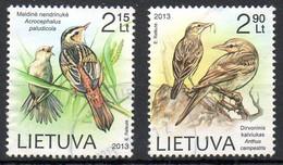 LITUANIE. N°997-8 De 2013 Oblitérés. Passereaux. - Songbirds & Tree Dwellers