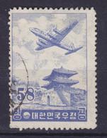 South Korea 1954 Mi. 176    58 (H) Flugzeug über Seoul - Corée Du Sud