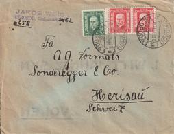 Tchécoslovaquie Lettre Pour La Suisse 1928 - Czechoslovakia
