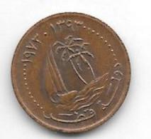 *qatar 1 Dirhams 1973 Km 2 Unc - Qatar