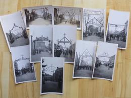 35 MARCILLE ROBERT - FETE - LES ARCS 11 PHOTOGRAPHIES 1934  ILE ET VILAINE - Sonstige Gemeinden