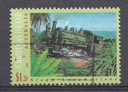 Christmas Island 1994 Mi.nr.:396  Dampflokomotiven   Oblitérés / Used / Gestempeld - Christmas Island