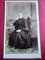 Photographie CDV Second Empire - Prêtre - Abbé - Curé - Circa 1865/70 - Photo Eugène De Paris Toulon - TBE - Ancianas (antes De 1900)