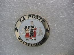 Pin's De La Poste De La Ville De WITTELSHEIM ((Dépt 68) - Mail Services