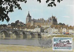 1758 - CHATEAU DE GIEN (LOIRET) Au 1er Jour Le 18-8-1973 TB - 1970-79