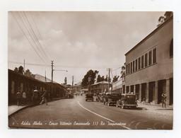Addis Abeba (Eritrea) -Corso Vittorio Emanuele II° - Animata -Occupazione Italiana - Viaggiata Nel 1939 - (FDC25112) - Eritrea