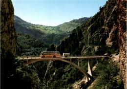 La Route D'Anniviers - Au Fond Vercorin (64) * 1974 - Postautobus - VS Valais