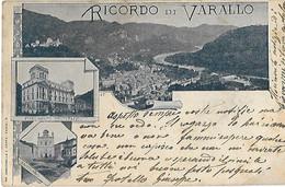 ITALIE - VARALLO - Piemont - Ricordo -Santuario - Stabilimento Idroterapico - Andere Städte