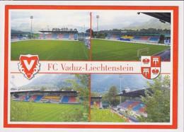 FOOTBALL - AK 384993 STADIUM / STADION - Liechtenstein - FC Vaduz - Rheinstadion - Liechtenstein