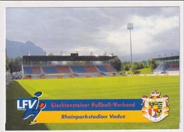FOOTBALL - AK 384994 STADIUM / STADION - Liechtenstein - Liechtensteiner Fußball-Verband - Rheinstadion - Liechtenstein