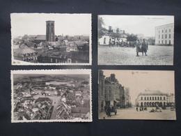 LOT 4 CP BELGIQUE (V2022) ATH (2 Vues) Grand Place, Intérieur De La Caserne, Panorama, Vers La Tour St Julien - Ath