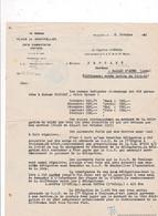 Document 1940 Place De Montpellier, C.A.T. De La 1ère Région, Capitaine CORRIAL - Documenten