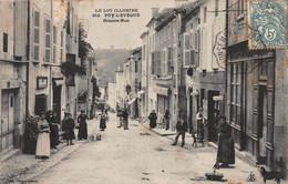CPA LE LOT ILLUSTRE - PUY-L'EVEQUE - Grande Rue - Altri Comuni