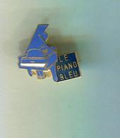 Pin's - Le Piano Bleu - Musica