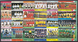 Soccer World Cup 1990 - Football - SIERRA LEONE - Set 24v MNH - 1990 – Italy