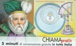 CHIAMAGRATIS SERIE PERSONAGGI- 65 TYCHO BRAHE - GSM-Kaarten, Aanvulling & Voorafbetaald