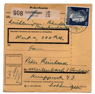 Allemagne  //  Colis Postal  //   De Leichlingen // 18-6-43 - Briefe U. Dokumente