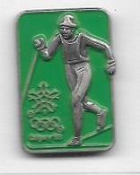 Pin' S  Fond  Vert  Sport  J.O  CALGARY  88 - Olympic Games