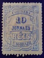 Bresil Brasil Brazil 1890 Timbre Journaux Newspaper Jornaes Yvert 19 (*) MNG - Neufs