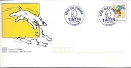 TINTIN - MILOU: PAP FETE DU TIMBRE 2000 - NARBONNE - Dogs