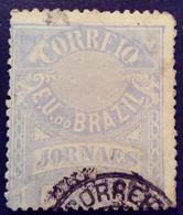 Bresil Brasil Brazil 1891 Timbre Journaux Newspaper Jornaes Yvert 23 O Used - Gebraucht