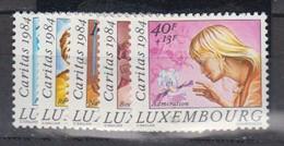 LUXEMBOURG    1984        N °   1082 / 1086  ( Neufs Sans Charniere )   COTE   15 € 00        ( E 284 ) - Ungebraucht