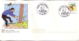 TINTIN - CAPITAINE HADDOCK : PAP FETE DU TIMBRE 2000 - NARBONNE - Comics