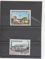 HAUTE-VOLTA  - Office Des Postes Et Télécommunications (O.P.T.) - Avion Postal, Antenne De Télécommunications - - Upper Volta (1958-1984)