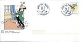 TINTIN - PROFESSEUR TOURNESOL : PAP FETE DU TIMBRE 2000 - NARBONNE - Comics