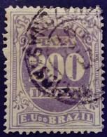 Bresil Brasil Brazil 1895 Taxe Tax Taxa Yvert 22b O Used - Gebraucht