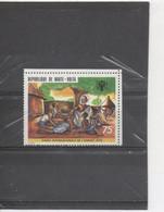 HAUTE-VOLTA  - Enfant - Année Internationale - Ancien Et Enfants - Village Et Arbre à Palabres - - Upper Volta (1958-1984)