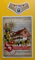 15942 - Sunnehalder 1988 Blauburgunder Rebgut Weinfelden - Etiketten