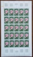 Andorre - YT N°247 - Feuille De 25 Timbres - Flore / Fleurs / Colchique - 1975 - Neuf + COIN DATE 7.6.79 - Nuovi