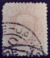 Bresil Brasil Brazil 1882 Pedro II Yvert 55 O Used - Gebraucht