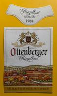 15944 - Ottenberger Riegelhus 1984 Thurgauer Blauburgunder - Etiketten