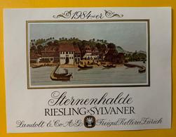 15945 - Sternenhalde 1984 Riesling X Sylvaner - Etiketten