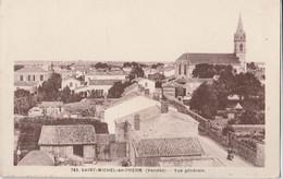 CPA 85 SAINT-MICHEL EN L'HERM VUE GENERALE - Saint Michel En L'Herm