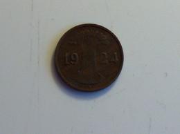 Allemagne 1 Pfennig 1924 F - [ 3] 1918-1933 : República De Weimar