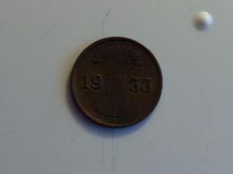 Allemagne 1 Pfennig 1933 A - [ 3] 1918-1933 : República De Weimar