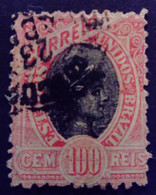 Bresil Brasil Brazil 1897 Liberté Liberty Liberta Yvert 90 O Used - Gebraucht
