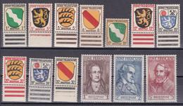 All. Besetzung Franz. Zone - Mi.Nr. 1 - 13 - Postfrisch MNH - Zona Francesa