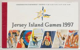 Carnet Jersey Island Games 1997 Biking Cyclisme  Tir à L'arc Volley Ball Tennis Football - Non Classificati