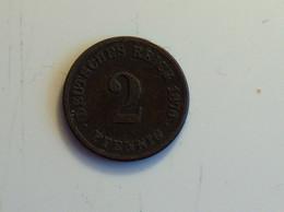 Allemagne 2 Pfennig 1876 F - [ 2] 1871-1918 : Imperio Alemán