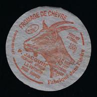 étiquette Fromage De Chèvre 150g P Jacquin  Valençay Indre 36 F3623301CEE - Käse