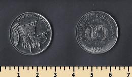Dominicana 25 Centavo 1991 - Dominicana
